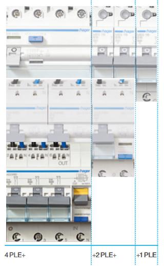 RCBO3 kombinovaný proudový chránič s jističi